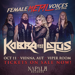WERBUNG: Female Metal Voices Tour 2018
